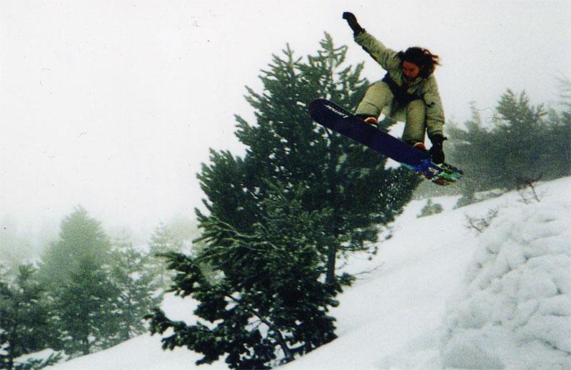 Ай-Петри, зима 2002